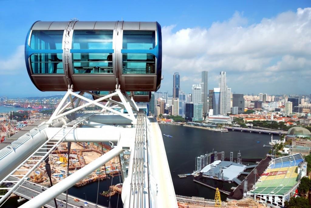 Singapore Flyer, Asia´s biggest ferris wheel.