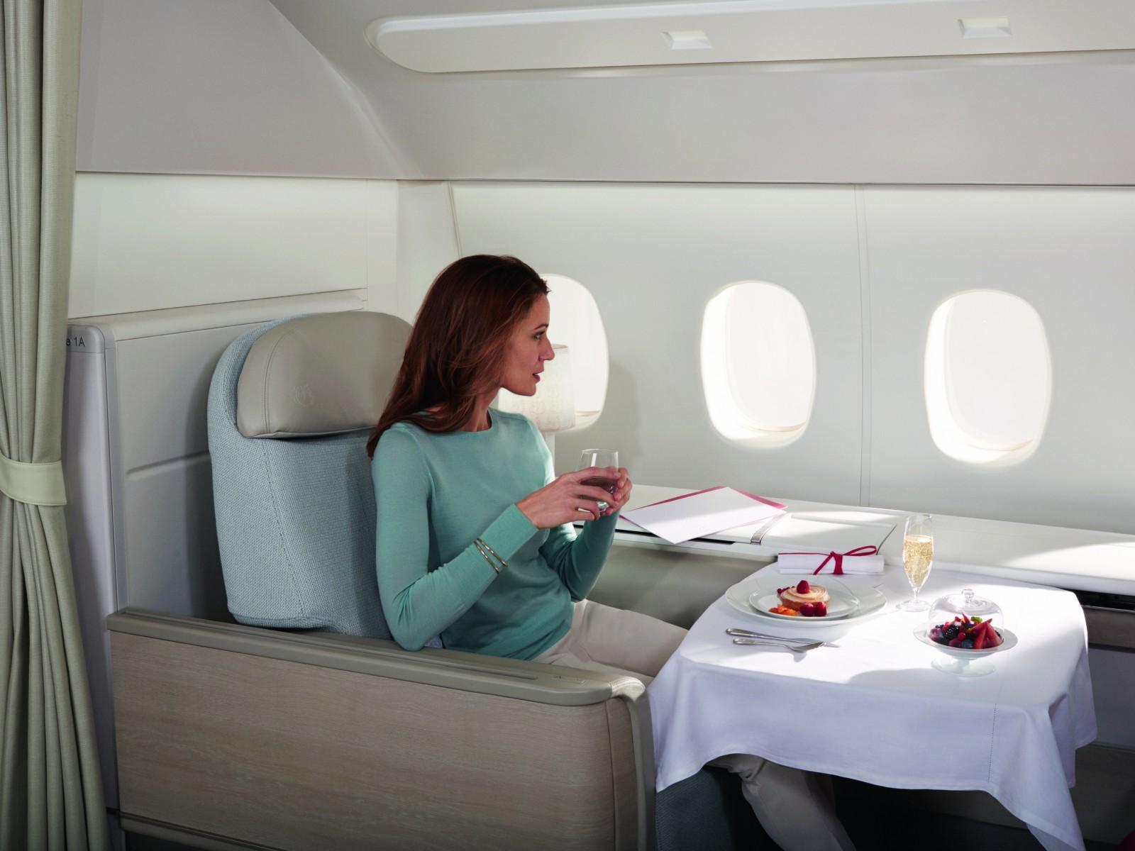 Air France La Premiere Suites.