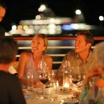 dining al fresco on seadream yacht