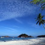 One of the white, sandy beaches on Redang Island on Malaysias East Coast.