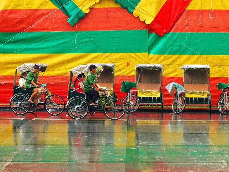 singapore rikshaw drivers