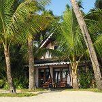 Beach cilla at Sandoway Resort in Ngapali
