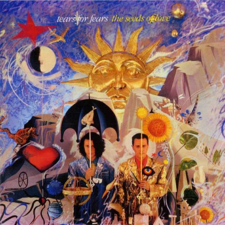 Tears For Fears - Sowing The Seeds Of Love album cover.