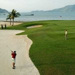 The famou Mission Hills golf course in Phuket, Thailand.