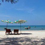 Peaceful Nai Yang Beach on Phuket.