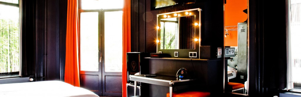 Backstage Hotel in Amsterdam.