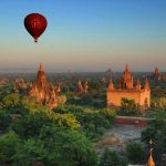 ballooning over bagan.
