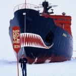 Martin Enckell on the North Pole.