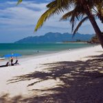 Beach on Langkawi, Malaysia. Courtesy of Malaysian Tourism Board.