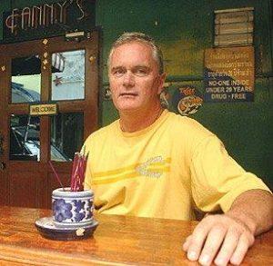 John Burdett the author of Bangkok Tattoo is probably thinking of travel.