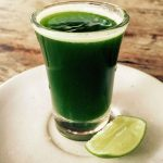 Wheat Grass shots are available in many places and cheap in Ubud, Bali.