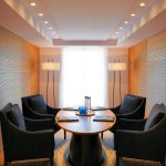 One of the smaller conference suites.