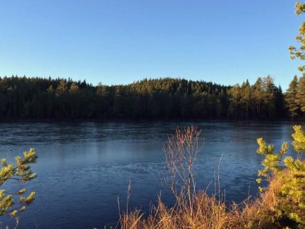 Lake at Camp Sävenfors in Sweden.