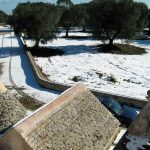 Trulli Angelo, Puglia was snow covered in December 2014.