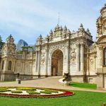 The DolmaBahce Palace in Istanbul.