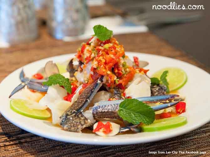 Dish at Lao City Thai. Courtesy of