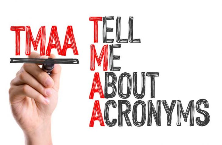 Tell me about acronyms, please!