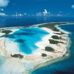 Atoll in French Polynesia.