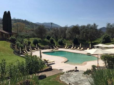The pool at La Meridiana Resort, pictured in April 2015.