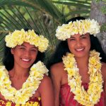 You can expect smiling people in French Polynesia.