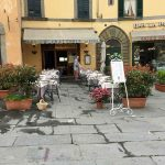 One of the many cafés in Cortona.