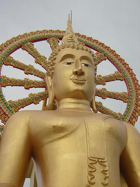 Big Buddha on Koh Samui.