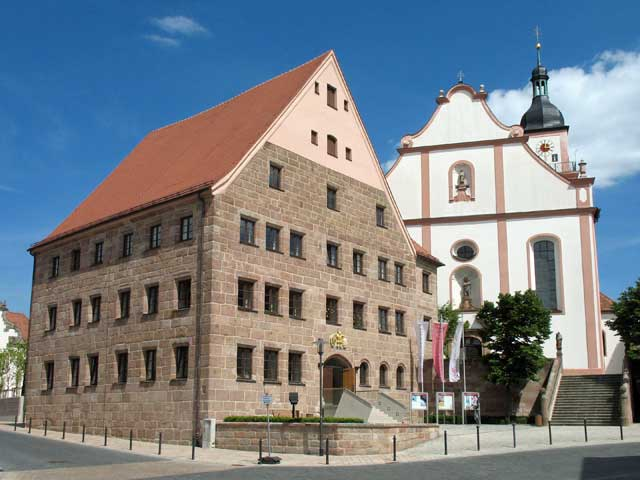 Hilpoltstein Residence Church.