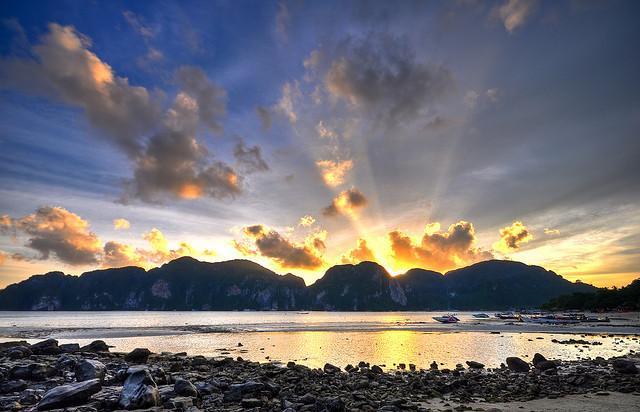 Uninhabited islands in Thailand.