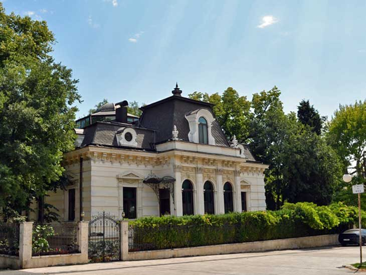 Anoton Novaks House in Varna, Bulgaria.