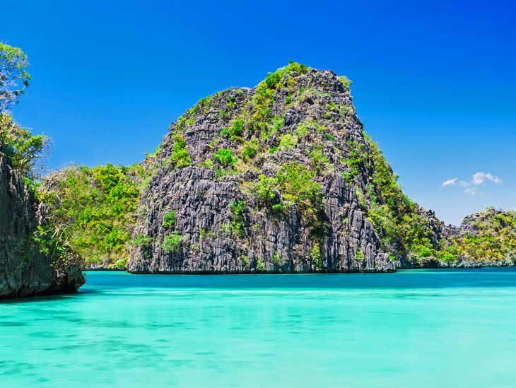 Lagoon in Palawan