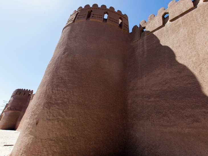Rayen Citadel in Iran.