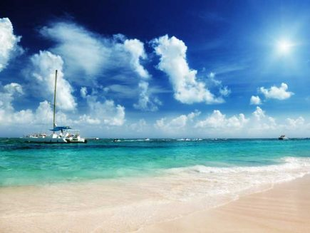 Sailing in the Caribbean is a great adventure.