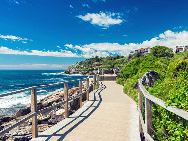 Bondi Beach Walk, Sydney.