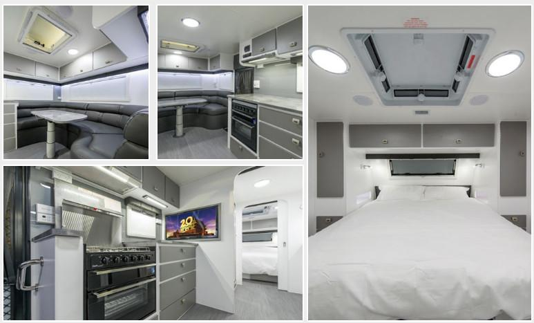 Guest post off road caravans the best means to a great for Interior caravan designs