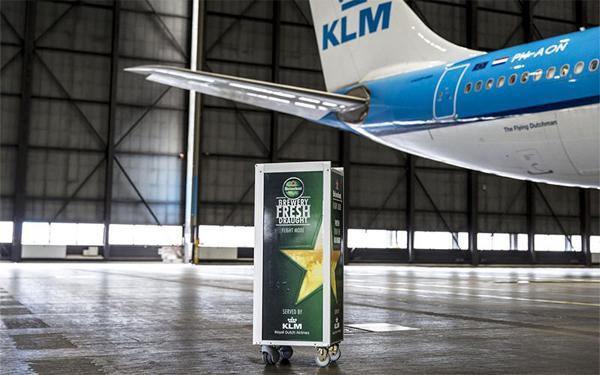Images courtesy of KLM/Heineken.
