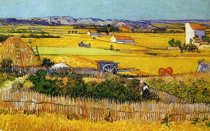 Van Gogh´s impresson of beautiful Arles.