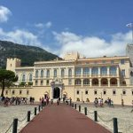 Le Palais De Princes in Monaco Old Town.