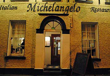Michelangelo Irish Italian restaurant in Dublin.