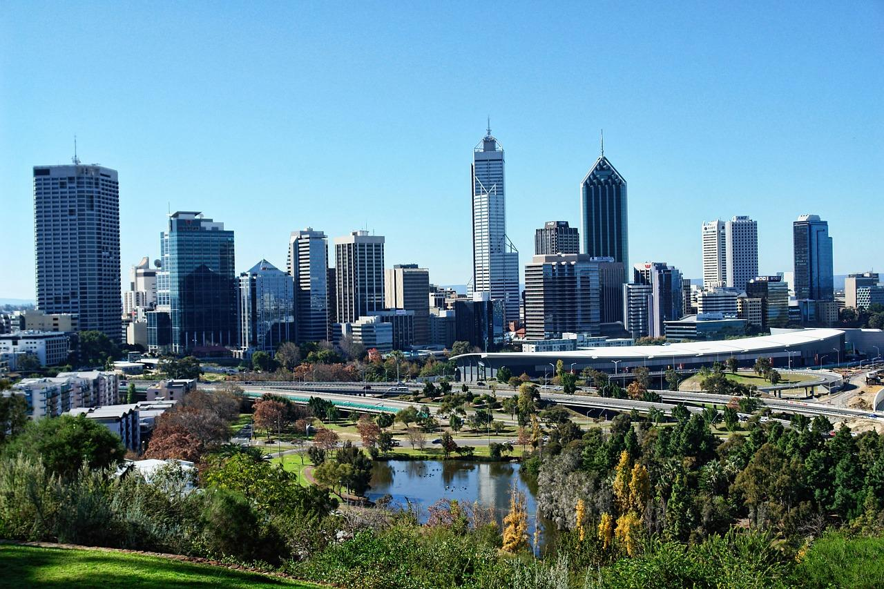 Perth - the sunshine city.