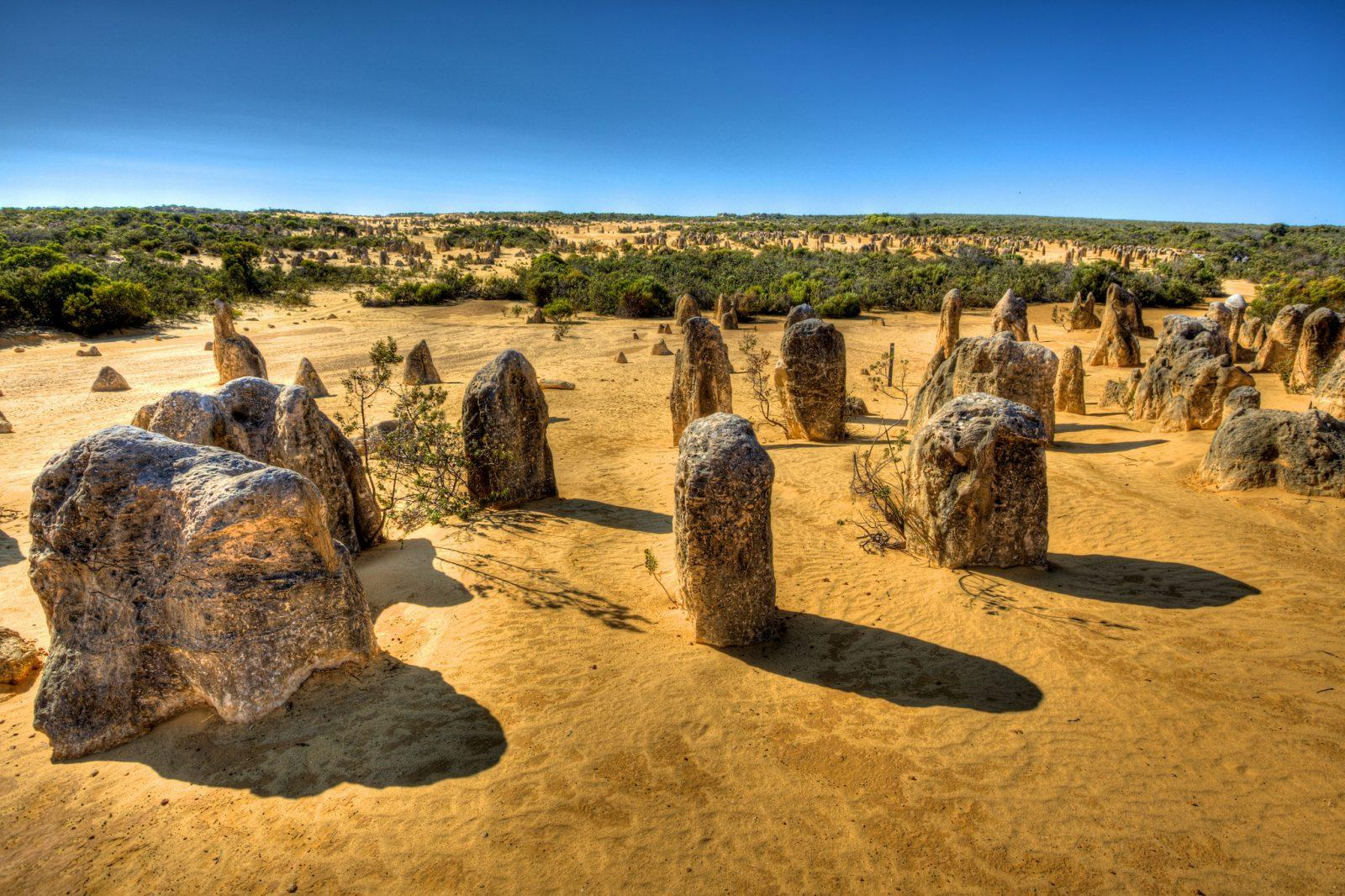 The Pinnacles in Western Australia.