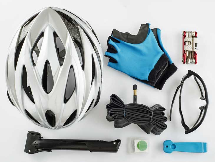 A helmet is a cheap safety precaution.