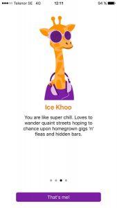 Trabble personality Ice Khoo.