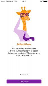 Trabble personality - Miles Khan.