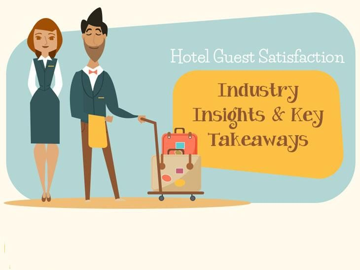 hotel guest satisfaction facts infographic