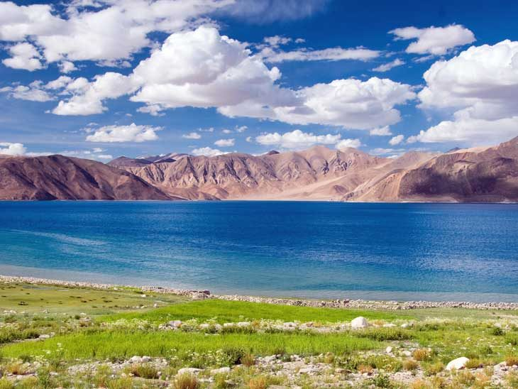 Pangong Lake close to Leh.