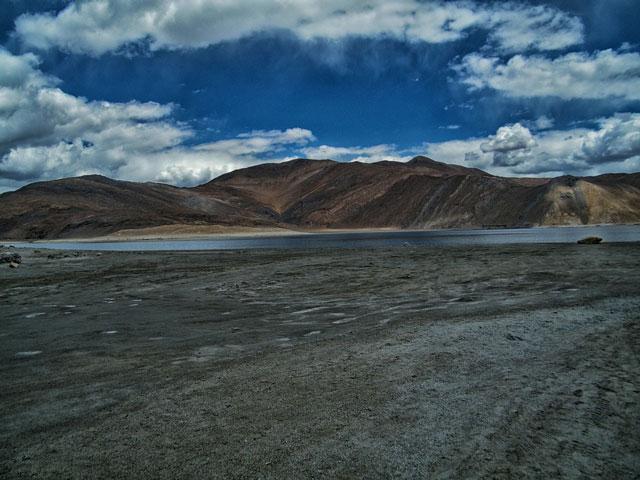 Pangong Lake, Photo by MangoTraveler, CC0 1.0