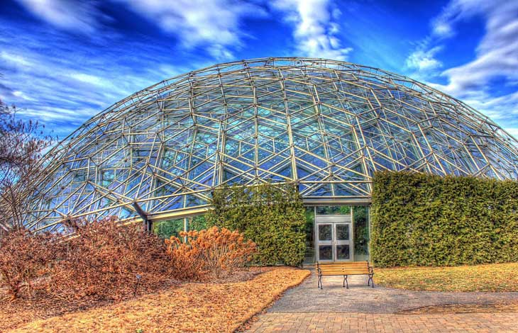 The Botanical Garden in St. Louis.