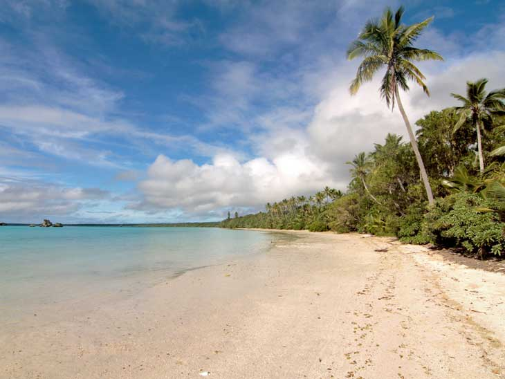 Ile Des Pins in New Caledonia.