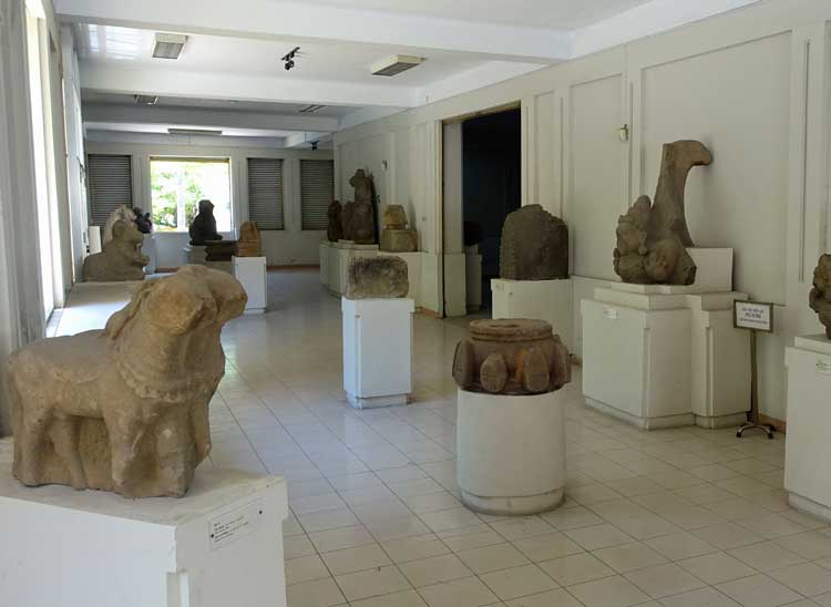 Museum of Cham Sculpture in Danang, Vietnam.