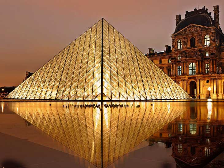 Le Louvre in Paris.